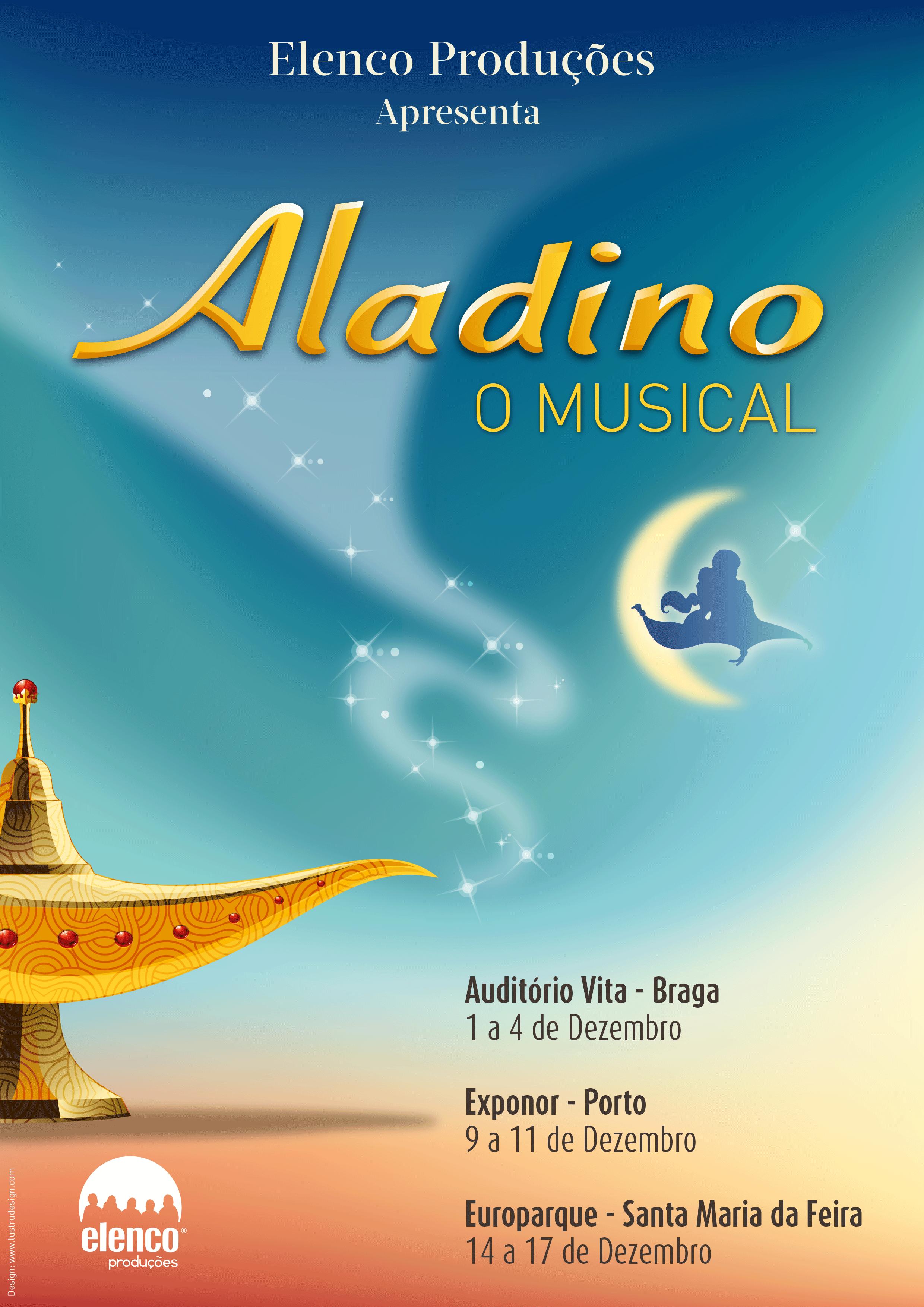 Cartaz: Aladino