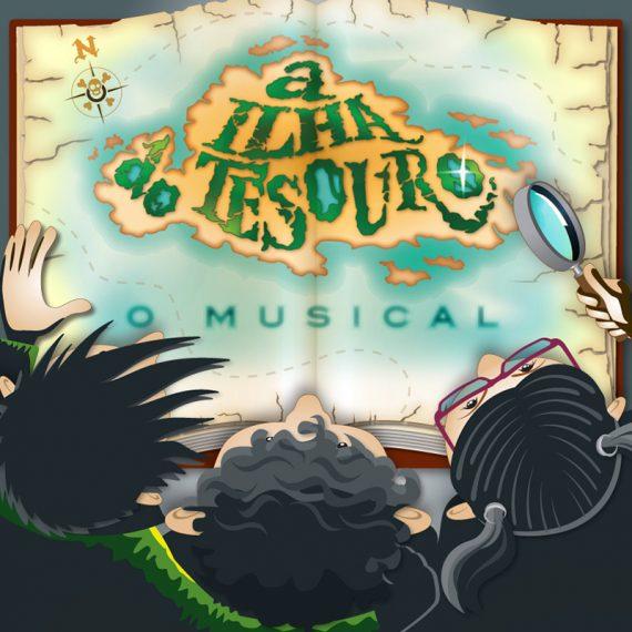 A Ilha do Tesouro: O Musical - Elenco Produções